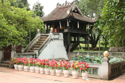 Mot Cot Pagoda, Vietnam tops the world for low-cost travel in 2014