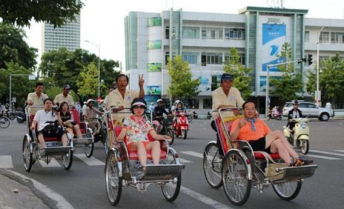 Tourist arrivals to Da Nang city