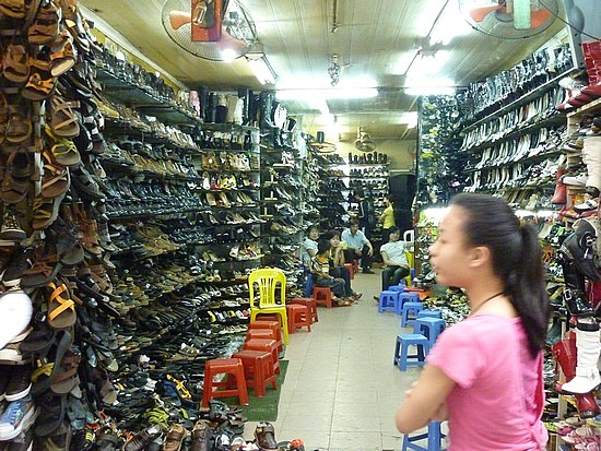 Shopping in Ho Chi Minh city