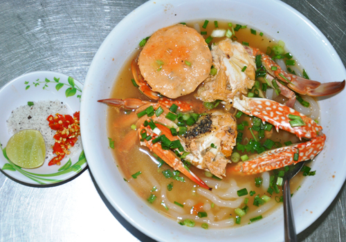 Most delicious Banh Canh in Mekong Delta region