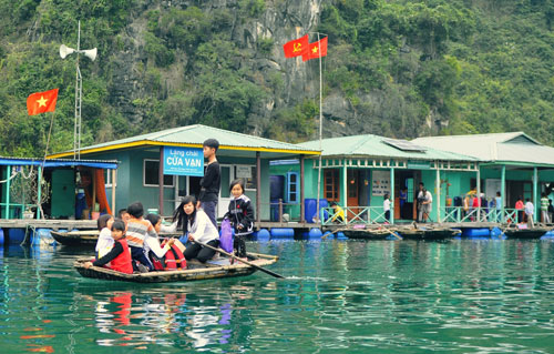 Visiting the world's most beautiful fishing village in Quang Ninh Province