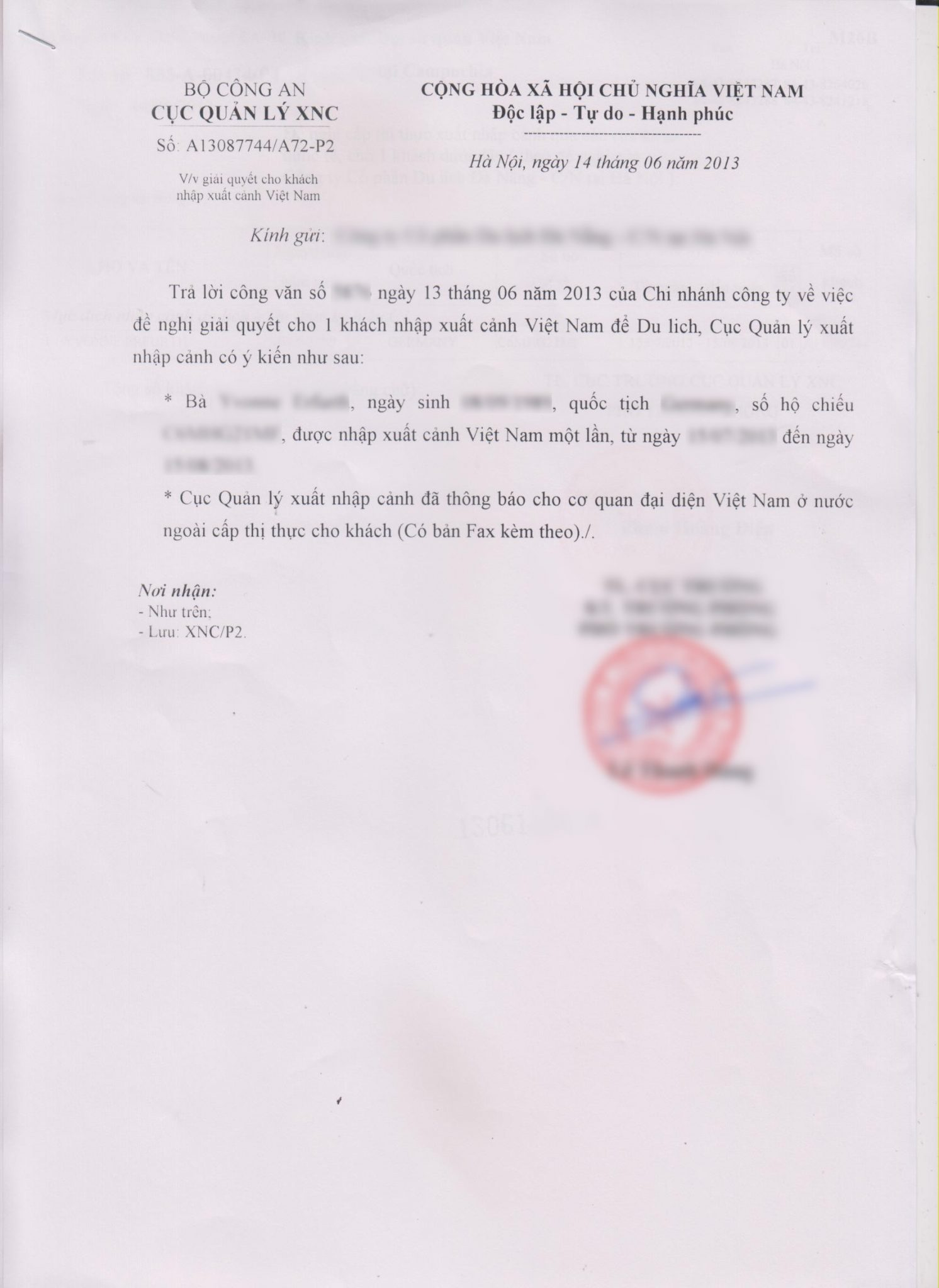 Letter To Embassy For Visa Application
