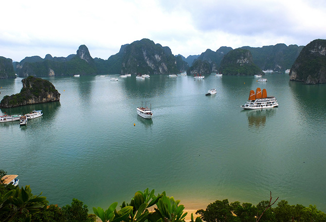 Ha Long Bay, Ha Long Bay cited as one of world's top destinations