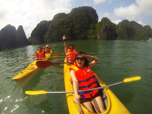 Kayak in Vietnam