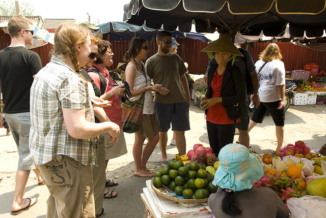 Joining a cooking class when traveling Hoi An