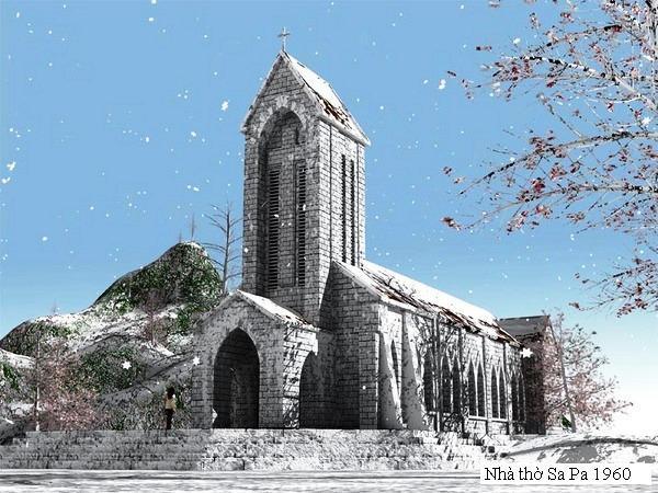 Stone church – the symbol of Sapa