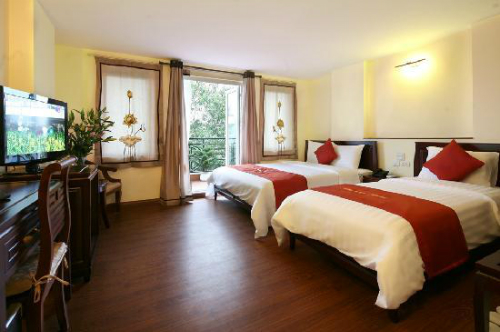 Five hotels in Vietnam ranked as the world's best services 2015